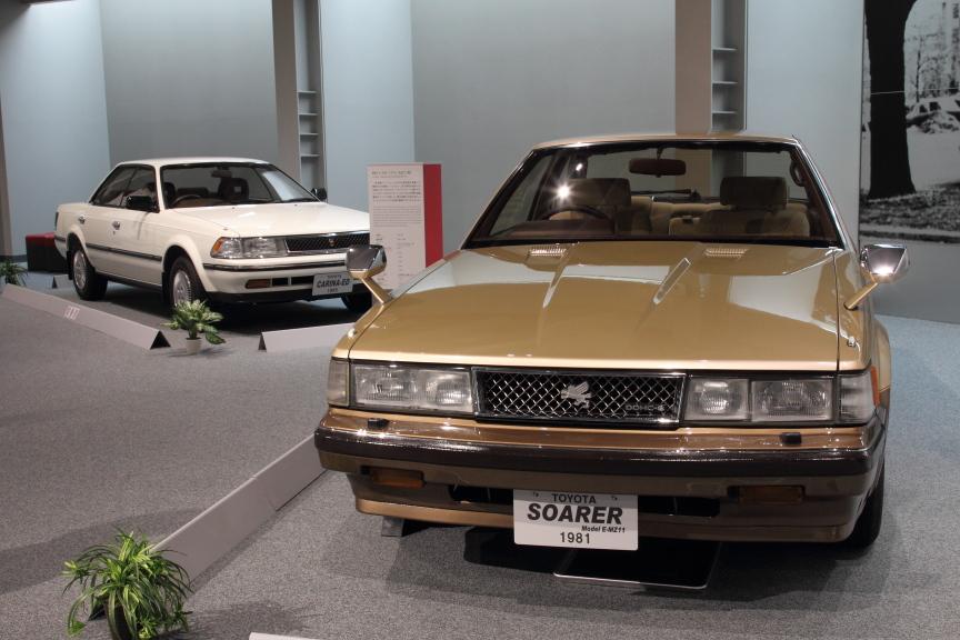 1981年 初代 トヨタ ソアラ (MZ11型)と1985年 初代 カリーナED(ST160型)