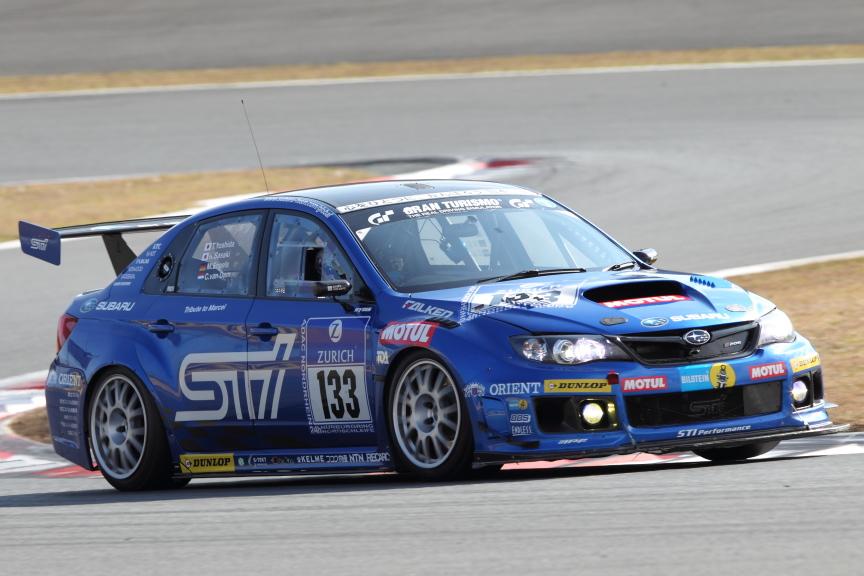 Team GT Academy GT-R / SUBARU WRX STI