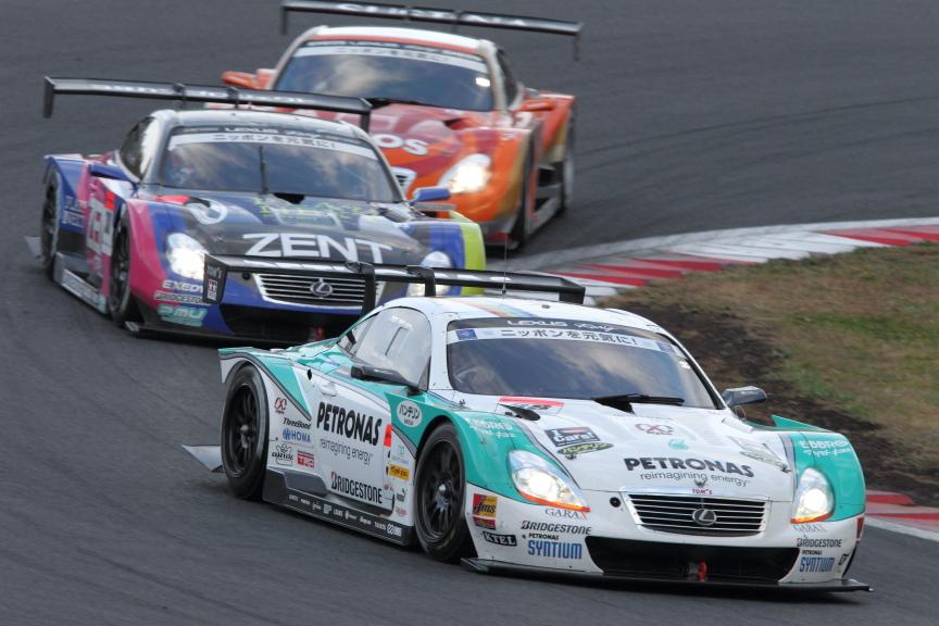GT500を制したのは中嶋一貴選手