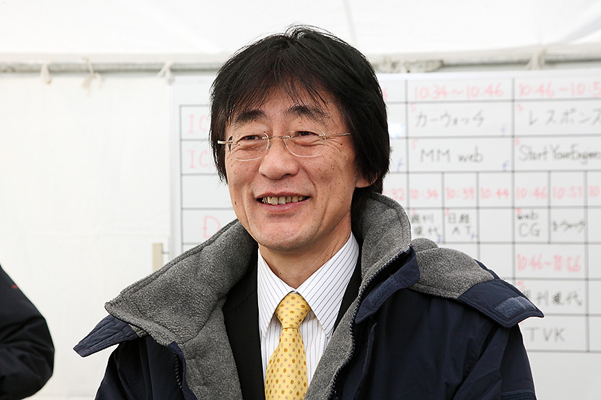 トヨタ自動車の安全技術を統括する吉田守孝CSTO