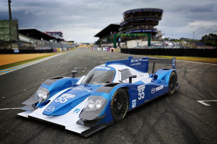 ルマン LMP2 SKYACTIV-D Racing