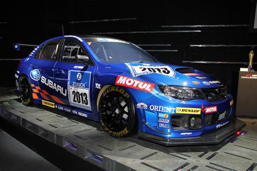 インプレッサ WRX STIのニュル24時間耐久レース参戦予定車