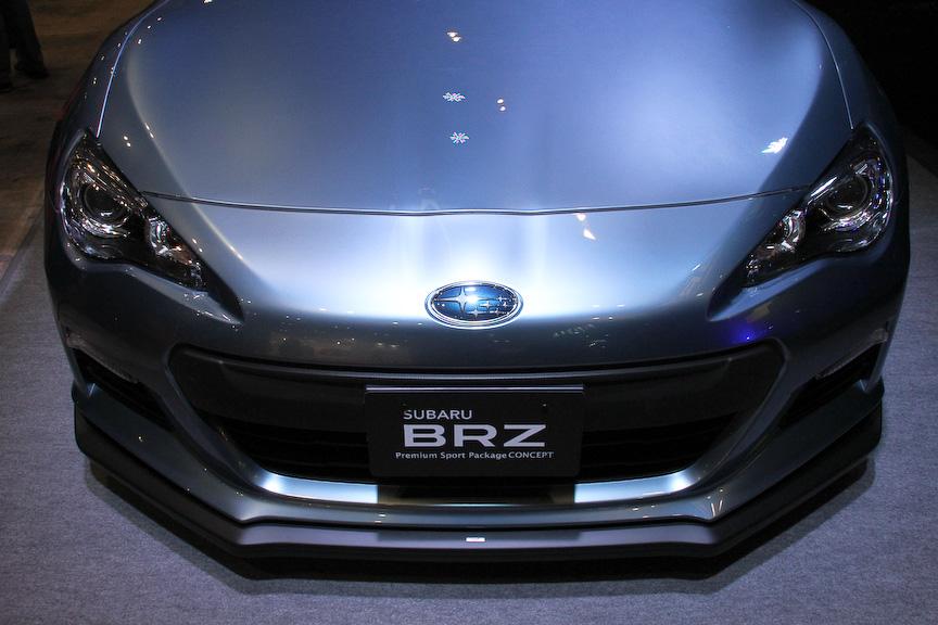 BRZ Premium Sport Package CONCEPT。6速AT車をベースとした大人仕様になっている