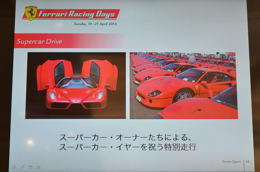 「スーパーカーイヤー」をテーマに、「スーパーカー・クロニクル」「スーパーカー・ドライブ」が行われる
