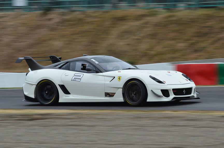 2012年のフェラーリ・レーシング・デイズの模様