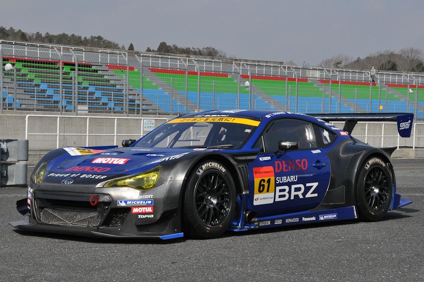 ミシュランタイヤを装着したSUBARU BRZ GT300