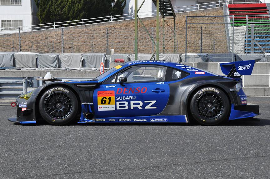 2013年仕様のSUBARU BRZ GT300