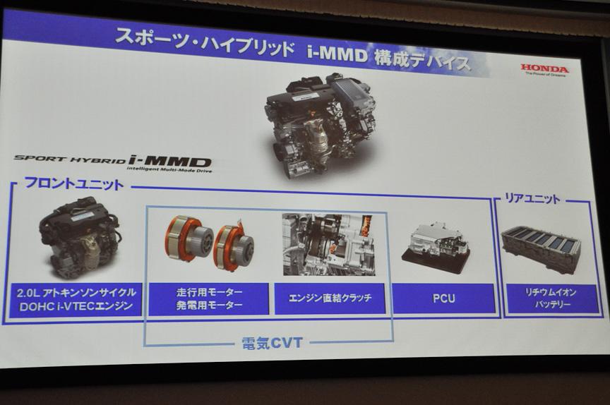 スポーツハイブリッド i-MMD構成デバイス