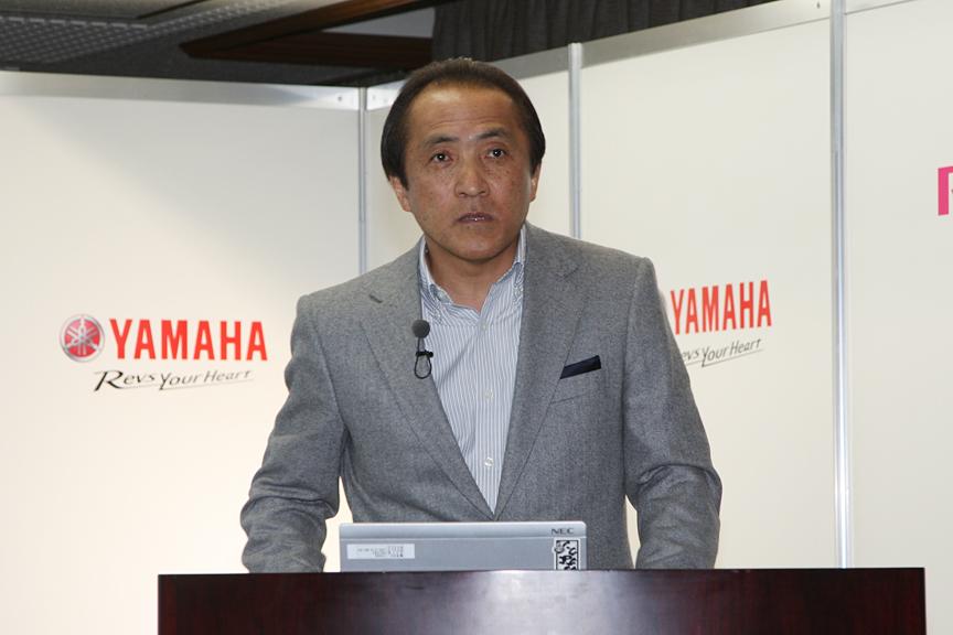 ヤマハ発動機の柳社長