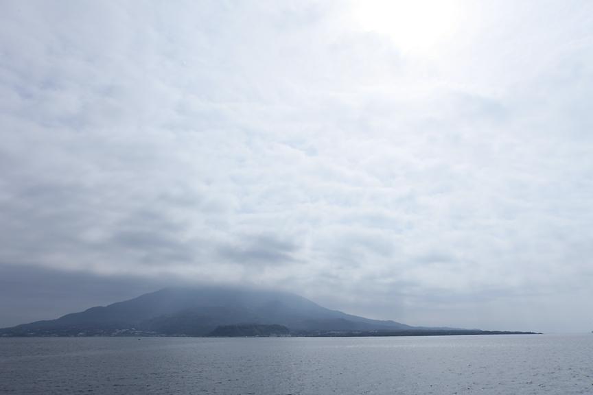最後まで桜島の全景を見ることはなく残念。改めて訪れたいところだ