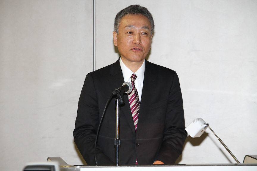 各技術やサービスの概要を紹介した経営企画部 参事 杉本富史氏