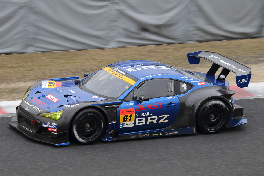 ミシュランはJAF-GT車両のSUBARU BRZ R&D SPORTをサポート