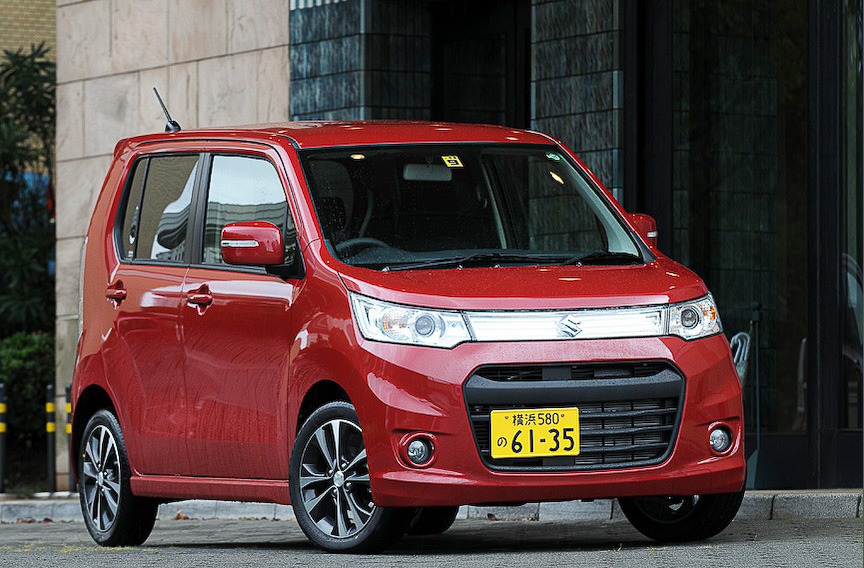 2013年3月の軽自動車車名別販売台数でトップに立った「ワゴンR」