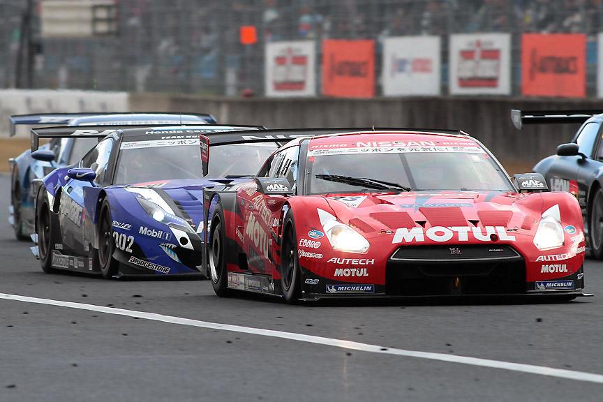 岡山国際サーキットで開催されたSUPER GT第1戦