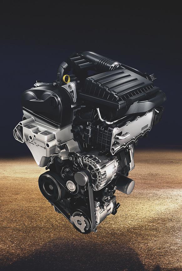 新開発エンジンEA211シリーズ