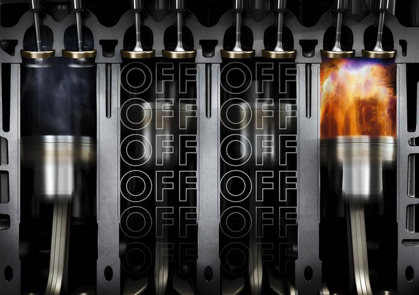 1.4リッターTSIエンジンは気筒休止システムを搭載する