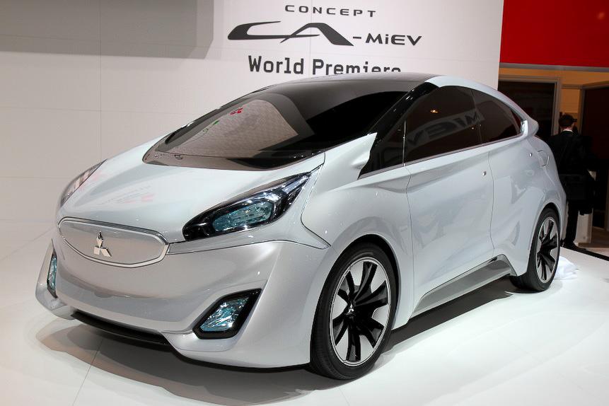 次世代EVのコンセプトカー「Concept CA-MiEV」