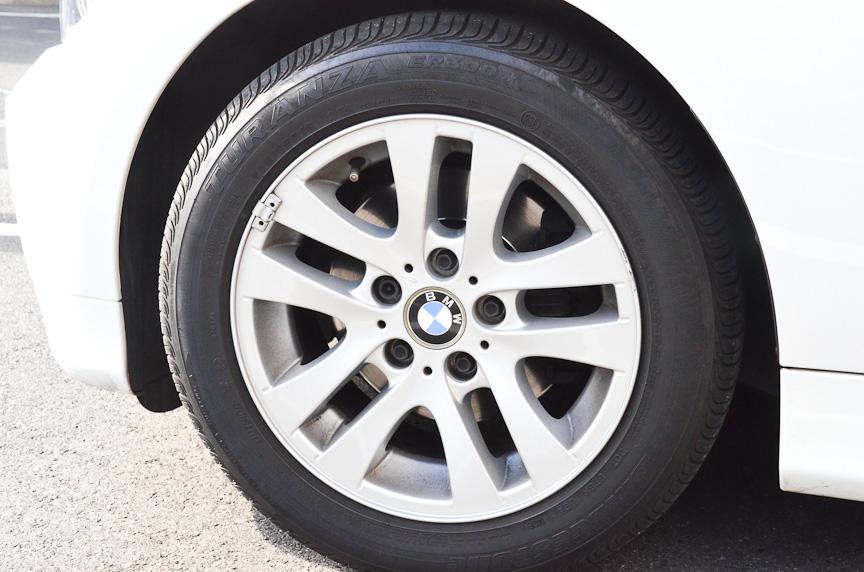 S001 RFTに交換する前のタイヤは、ライン装着されてきたブリヂストンの「TURANZA(トランザ) ER300 RFT」。サイズは205/55 R16