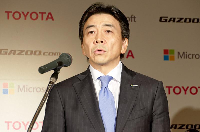 日本マイクロソフト 執行役常務 エンタープライズビジネス担当 小原琢哉氏
