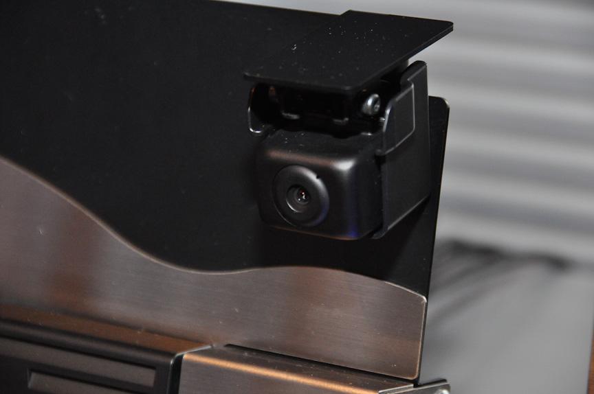 メガピクセル化されたカメラ