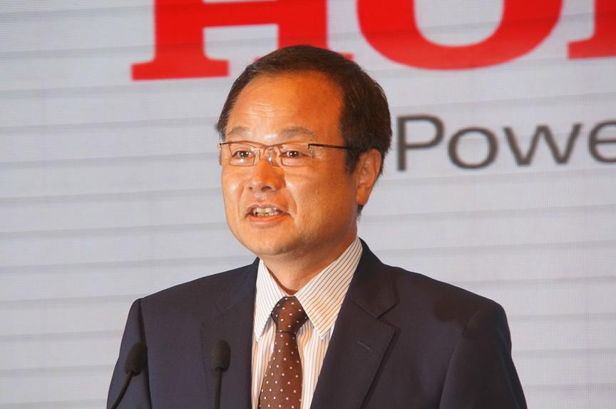 本田技研工業株式会社 代表取締役社長執行役員 伊東孝紳氏