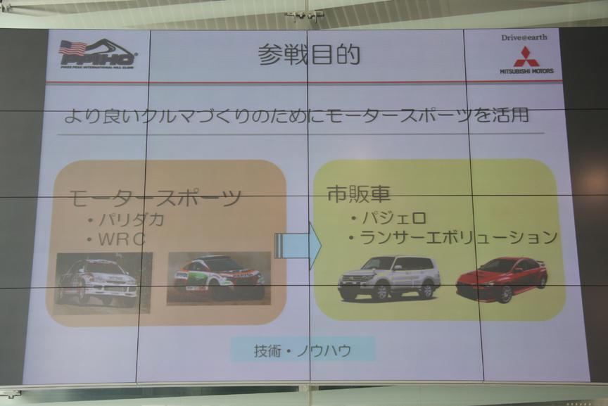 ダカールラリー、WRCといった過酷なレースシーンでの活動が、市販モデルの開発に生かされている