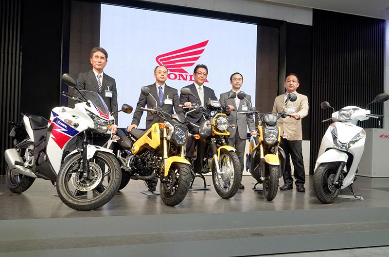 原付二種バイク5車種を発表