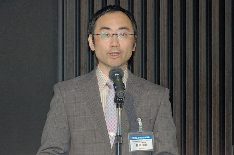 カブ、スクーターシリーズの開発責任者である本田技術研究所 二輪R&Dセンター 藤原清隆氏