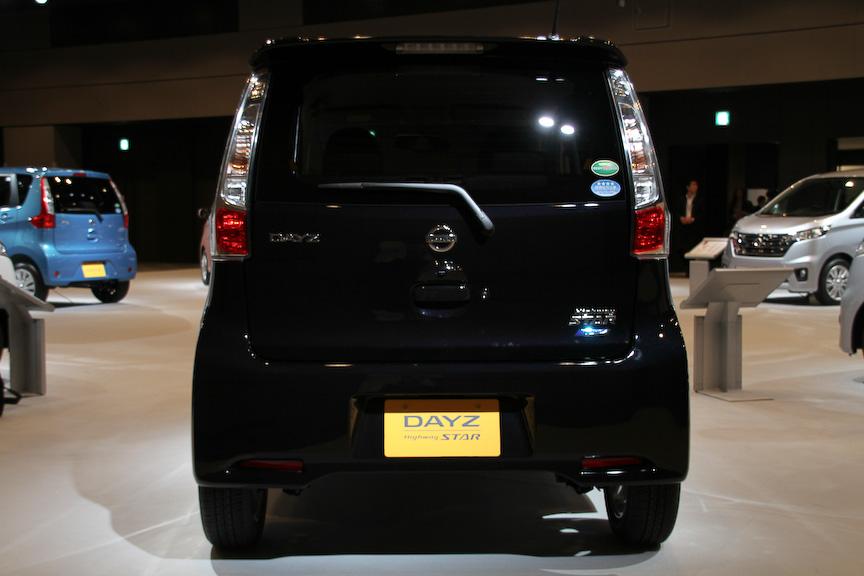 デイズ ハイウェイスター X。ボディーサイズは3395×1475×1620mm(全長×全幅×全高)、ホイールベース2430mm。燃料タンク容量は30L