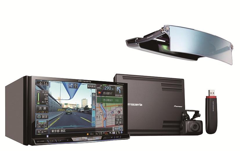2013年モデルとなった新型サイバーナビ「AVIC-ZH0009HUD」。ちょっと見は、筆者が普段使用している21012年モデルの「AVIC-ZH99HUD」とあまり変わっていないが、よく見ると細かく変わっている。カメラ画像処理など、格段にパワフルなデータ処理能力を持つ