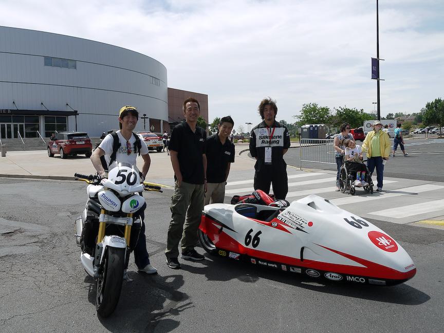 日本人初参戦のとなるこのクラス。ドライバー渡辺選手/パッセンジャー安田選手は国内外でも数々のレースで成績を残している実力十分のチーム。狙うはクラス優勝!