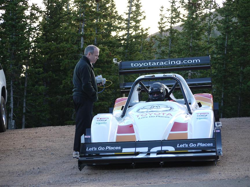TOYOTA TMG EV P002ドライバーのロッド・ミレン選手。息子はアンリミテッドに出場しているライズ・ミレン選手