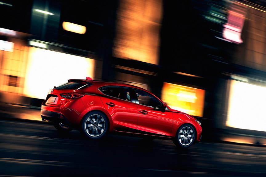 新型「Mazda3(日本名:アクセラ)」北米仕様車