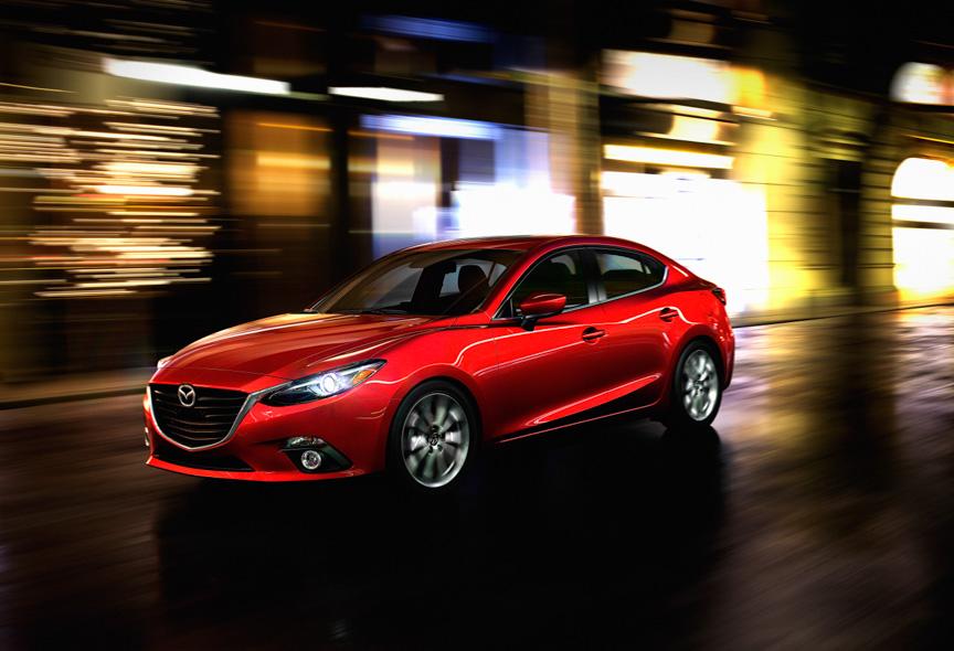 新型「Mazda3(日本名:アクセラ)」セダン北米仕様車