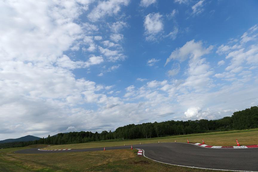 新型「フィット」のプロトタイプ試乗会は北海道上川郡鷹栖町にあるホンダのテストコースで行われた
