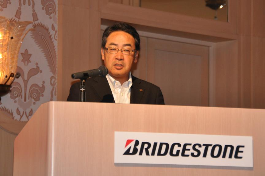 ブリヂストン 常務執行役員 兼 ブリヂストンタイヤジャパン 代表取締役社長 清水実氏