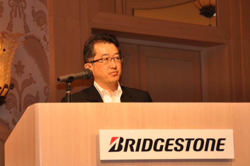 ブリヂストンタイヤジャパン 常務執行役員 消費財タイヤ事業統括本部長 大森繁氏
