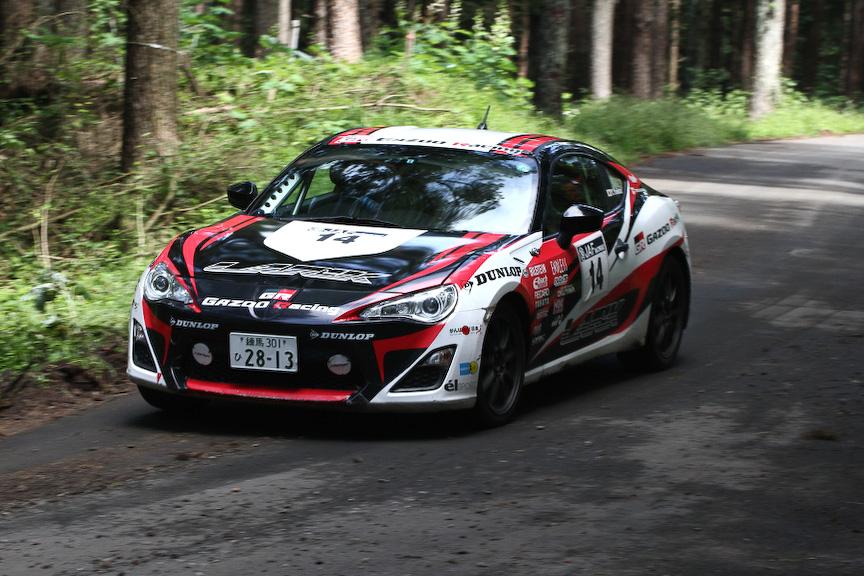 JN3クラス(1500㏄超~3000㏄以下)では、トヨタ「86」とスバル「BRZ」が上位を独占。TEIN with AKTの鎌田選手はBRZのデビュー戦ながら3位を獲得した
