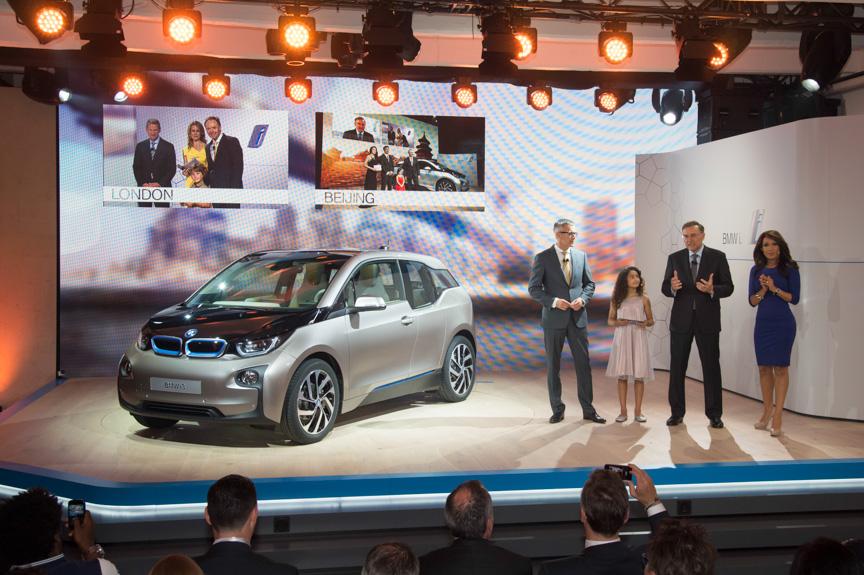 BMW初のEVとなる「i3」