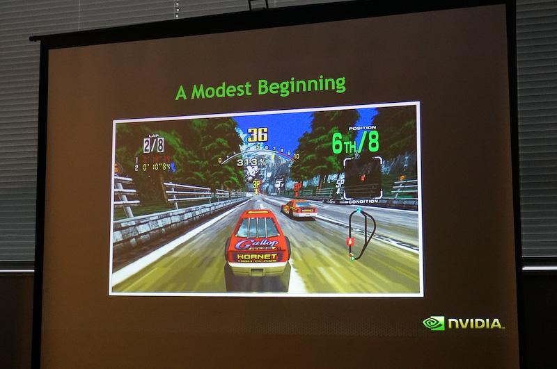 NVIDIAの自動車ビジネスと言えばもとは3Dゲームだった
