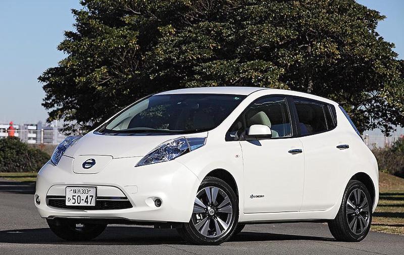 電気自動車(EV)「リーフ」