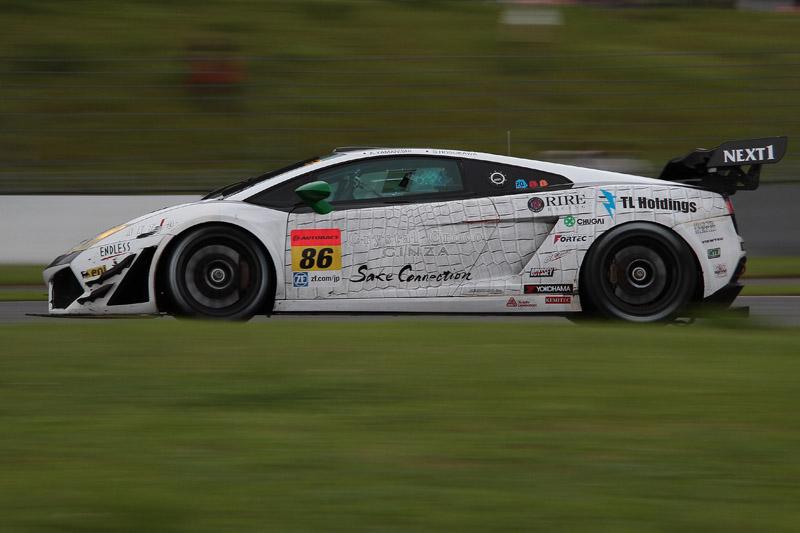 3位の86号車 クリスタルクロコ ランボルギーニ GT3(山西康司/細川慎弥)