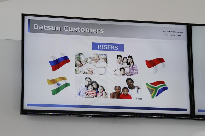 ダットサンブランドのターゲット層を「RISERS」と呼ぶ