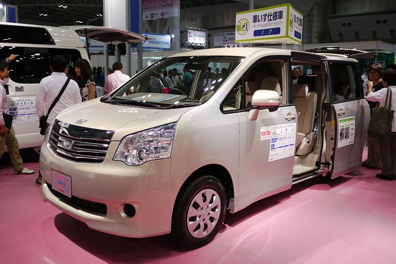 ノア 車いす仕様車(スロープタイプ)タイプII サードシート付