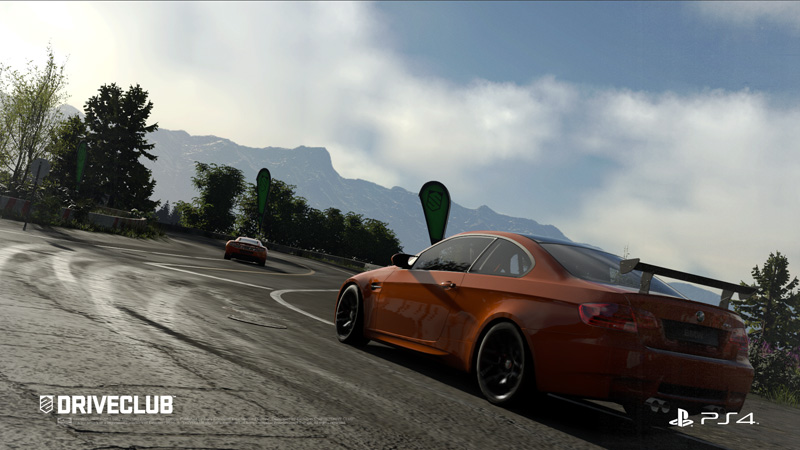 PS4ソフト「DRIVECLUB」のスクリーンショット