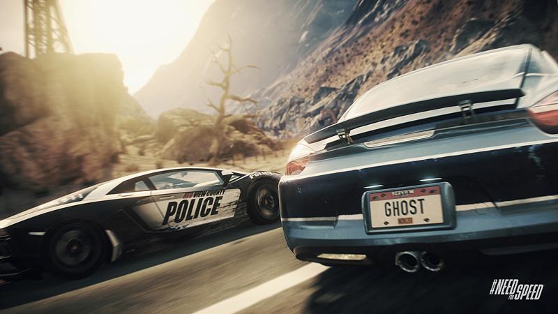 PS4ソフト「ニード・フォー・スピード ライバルズ」のスクリーンショット