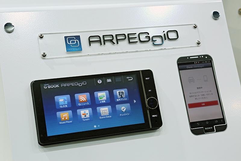 車載連携情報サービス「ARPEGGiO(アルペジオ)」