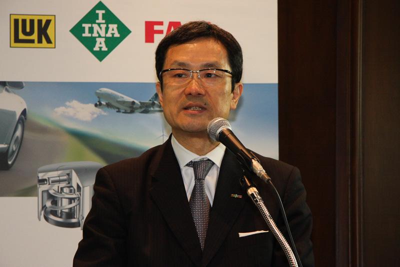 シェフラージャパン 自動車事業部 代表取締役社長 四元伸三氏