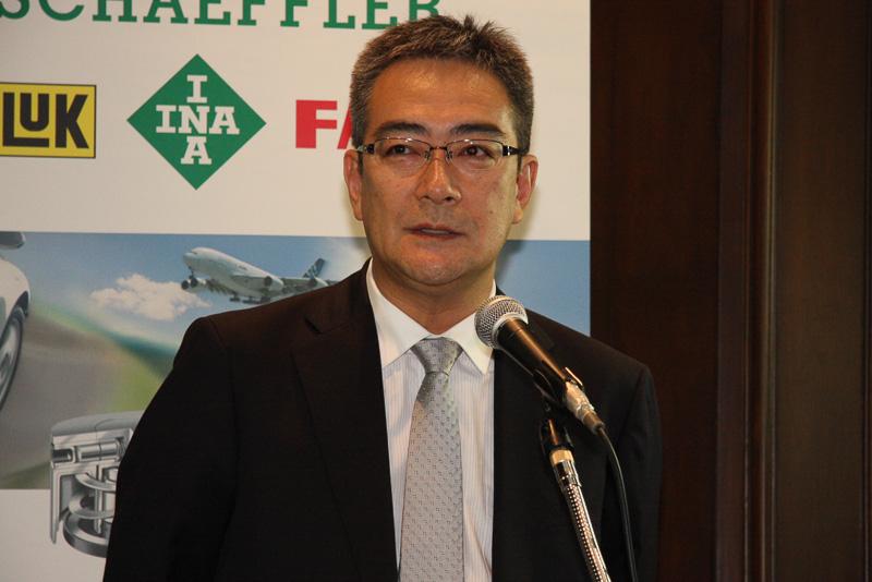 シェフラージャパン 自動車事業部 エンジンテクノロジー技術部 執行役員の栗城剛氏