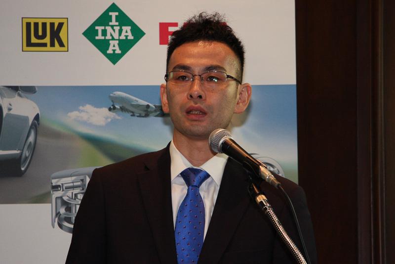 シェフラージャパン 自動車事業部 トランスミッションテクノロジーグループの中澤智一氏